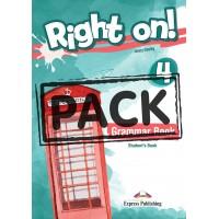 Right On ! 4 Grammar Student's Book - CEFR B1 Intermediate