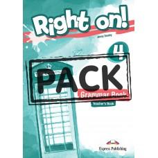 Right On ! 4 Grammar Teacher's Book - CEFR B1 Intermediate