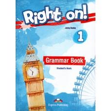Right On ! 1 Grammar Student's Book - CEFR A1 Beginner