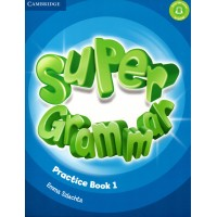 Super Minds 1 Super Grammar Practice Book 1 (CEFR- Starters)