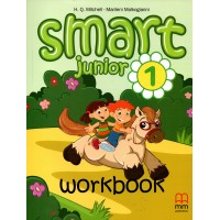 Smart Junior 1 Workbook with CD audio CEFR - A1 Starters