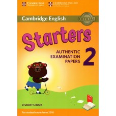 Cambridge English STARTERS 2 Student's Book