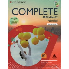 Complete PRELIMINARY Student's Book Pack with Answers For The Revised Exam from 2020