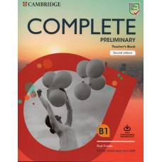 Complete PRELIMINARY Teacher's Book For The Revised Exam From 2020