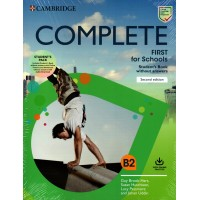 Complete First for Schools SB Pack ( Student's Book without Answers, Workbook without Answers ) B2