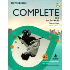 COMPLETE KEY for Schools A2 Teacher's Book with audio downloadable for Student's Book