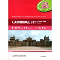 Cambridge B1 Preliminary for Schools Practice Tests with audio CD and Key