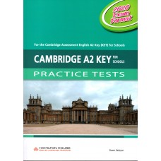Cambridge A2 KEY For Schools Practice Tests with audio CD and key