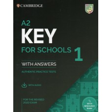 Cambridge KEY A2 English Test for Schools 1 with answers and audio download