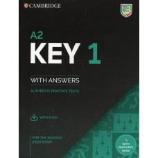 Cambridge KEY A2 English Test 1 with answers and downloadable audio