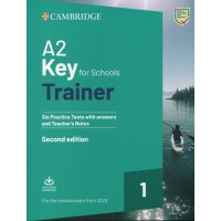 KEY for Schools Trainer A2 Practice Tests 1 with Answers & Audio Download