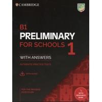 Cambridge B1 Preliminary for Schools 1 Pack