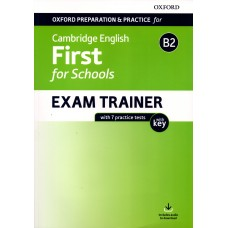 Cambridge FIRST (FCE) For Schools B2 Exam Trainer with Key