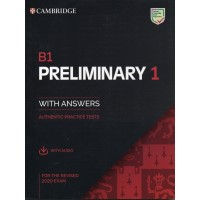 Cambridge Preliminary B1 English Test 1 with key and audio download