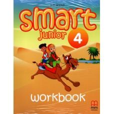 Smart 4 Junior Workbook with Audio CD/CD-Rom