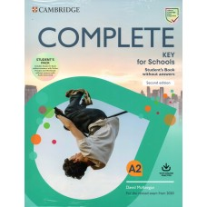 COMPLETE KEY for Schools A2 Student's Pack ( Student's Book without answers, Workbook without answers )