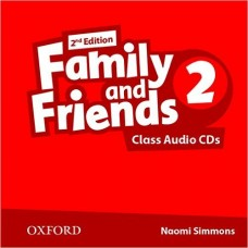 FAMILY AND FRIENDS 2 CLASS CD