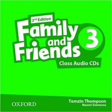 FAMILY AND FRIENDS 3 CLASS CD