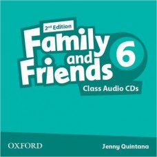 FAMILY AND FRIENDS 6 CLASS CD