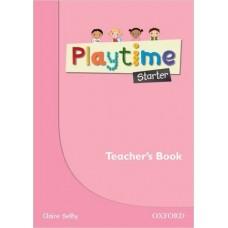 Playtime Starter Teacher's Book