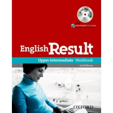 English Result Upper-intermediate Workbook with Answer Booklet and MultiRom