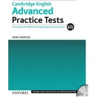 Cambridge English Advanced Practice Tests with Key and Audio CD Pack: Five Tests for the 2015 ( Oxford )