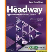 New Headway Upper-Intermediate Workbook with Key and Checker Cd-Rom