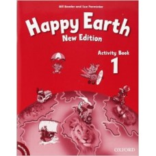 Happy Earth 1 Activity Book and MultiRom Pack