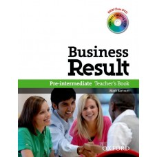 Business Result Pre-intermediate Teacher's Book and Dvd Pack