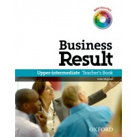 Business Result Upper-intermediate Teacher's Book and Dvd Pack