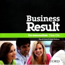 Business Result Pre-intermediate Class Audio Cds