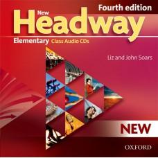 New Headway Elementary Class Audio Cds