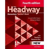 New Headway Elementary Teacher's Book with Teacher's Resource Disc