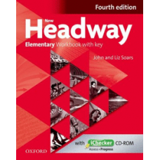 New Headway Elementary Workbook with Key and Checker Cd-Rom