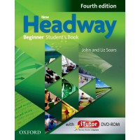 New Headway Beginner Student's Book and iTutor Dvd-Rom