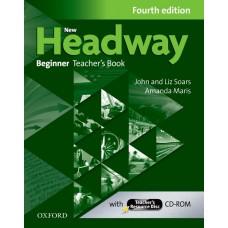 New Headway Beginner Teacher's Book with Teacher's Resource Disc