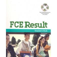 FCE Result Teacher's Pack