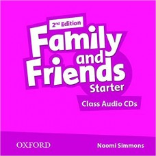 Family and Friends Starter Class CD